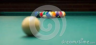 Billiard game ready to break 2