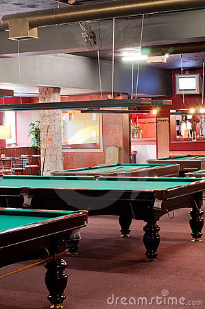 Billiard room