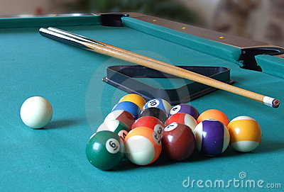 Billiard Table_3 Royalty Free Stock Image - Image: 5544486