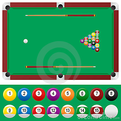 Billiard Table Set