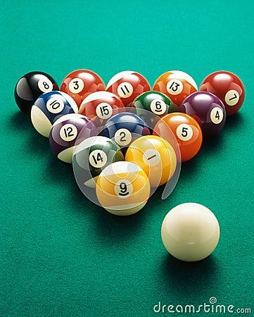 Billiardkugeln