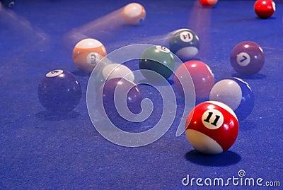 Billiardtabelle