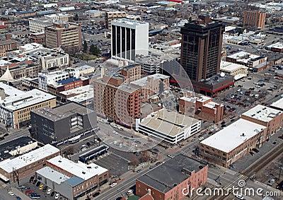 Billings Montana Aerial