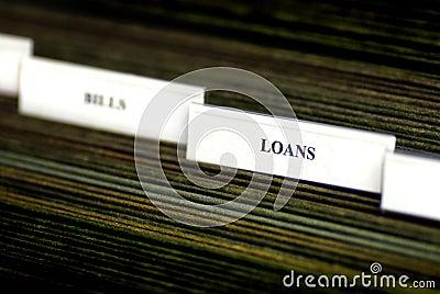 Bills Organized in Filings Tabs