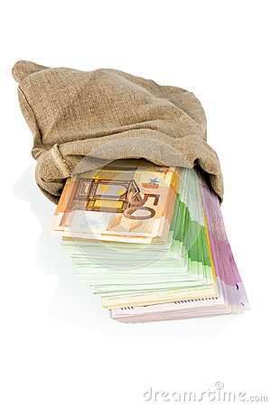 Bills in a sack