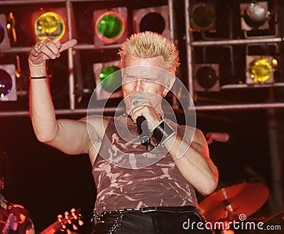 Billy Idol Editorial Photo
