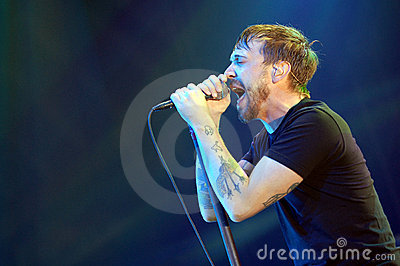 Billy Talent Editorial Stock Image
