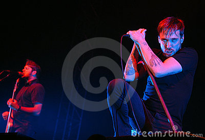 Billy Talent Editorial Stock Photo