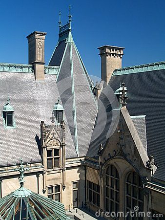 Free Biltmore House Royalty Free Stock Photo - 53674025