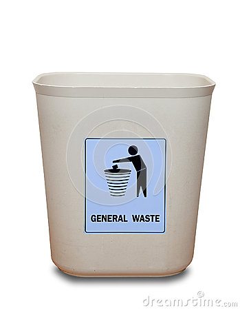 The Bin of general waste