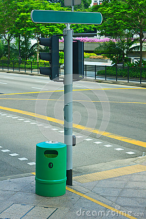 Bin on intersection