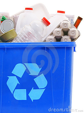 Free Bin Of Recyclables Stock Photos - 3202873