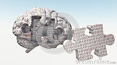Binary Brain Puzzle