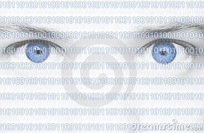 Binary Code Eyes