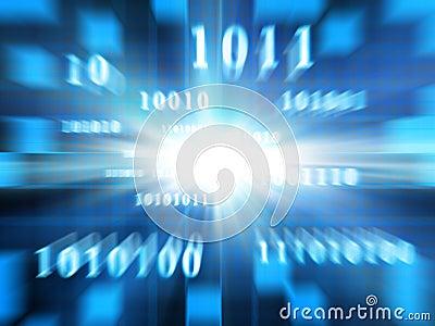 Binary Code (Fast Zoom)