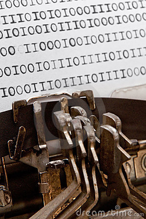 Free Binary Data Royalty Free Stock Images - 22566309