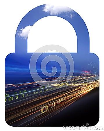 Binary data & lock