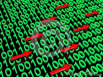 Binary data traffic