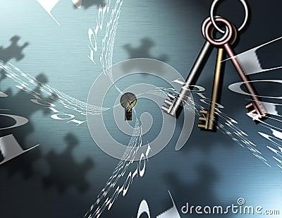 Binary Puzzle Keys