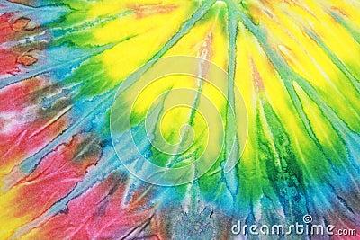 Binden Sie Färbungs-Muster