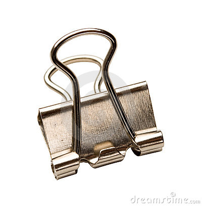 Free Binder Clip Stock Photography - 14285462