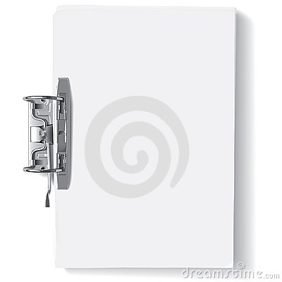 Free Binder Metal Clip Stock Photography - 17999882
