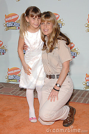 Bindi Irwin, Terri Irwin Editorial Photo