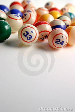 Free Bingo Balls Stock Photography - 195722