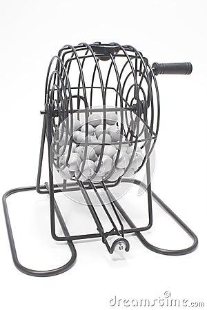 Free Bingo Cage Royalty Free Stock Photography - 2584357