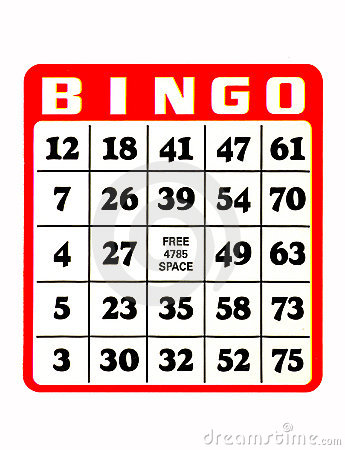 Free Bingo Card Royalty Free Stock Image - 203906