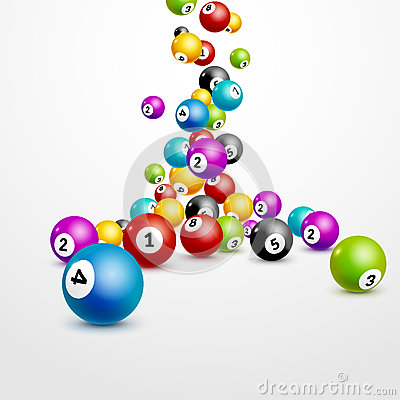 Free Bingo Lottery Balls Numbers Background. Lottery Game Balls. Lotto Winner. Stock Images - 83062104