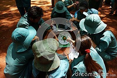 BINH PHUOC, VIETNAM 9 DE MAYO Foto editorial