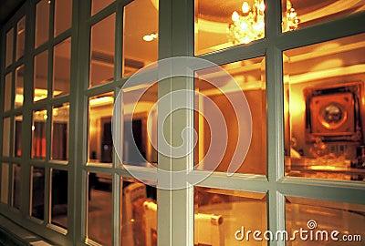 Binnen het venster