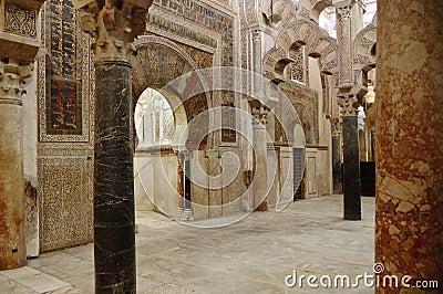Binnen Mezquita van Cordoba, Spanje