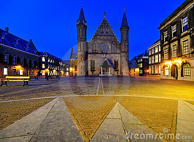 Binnenhof by Night, The Hague