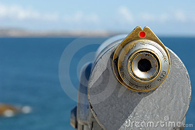 Binocular at the coast