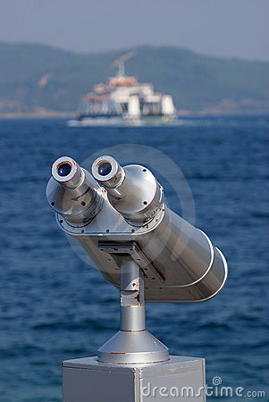 Free Binocular For Sea Seeing Stock Photo - 15442070