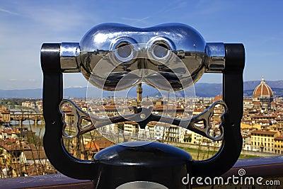Binoculars in Florence