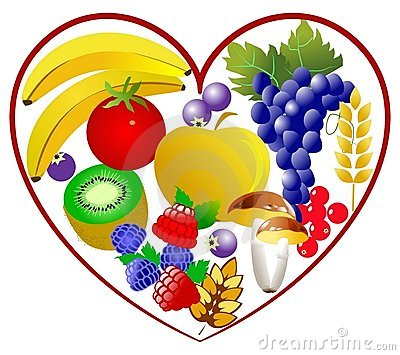 Bio food, healthy heart