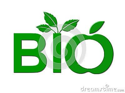 Bio foods sign