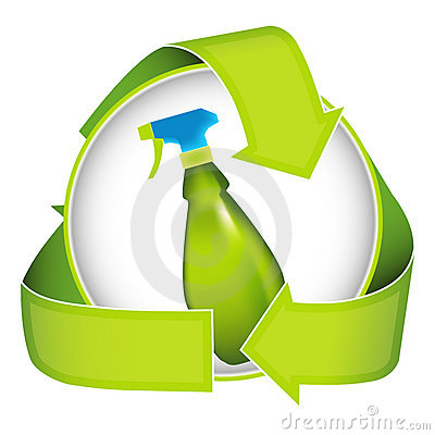 Free Bio Friendly Cleaner Stock Photography - 8631532