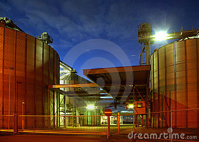 Bio gasoline storage tanks