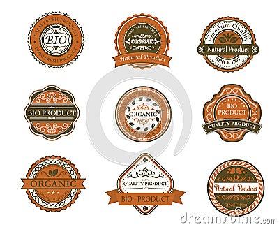 Bio and organic labels