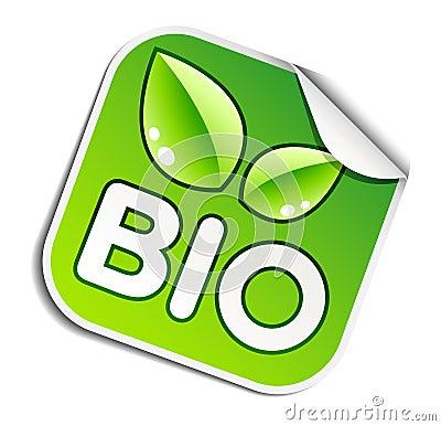 Bio sticker