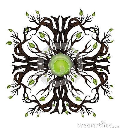 Bio tree icon