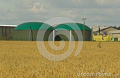 Biogas plant 10
