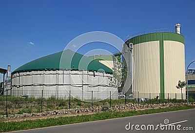 Biogas plant 15