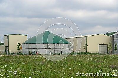 Biogas plant 26