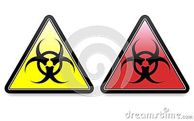 Biohazard Icons EPS