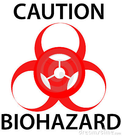Free Biohazard Warning Sign Stock Images - 11537934